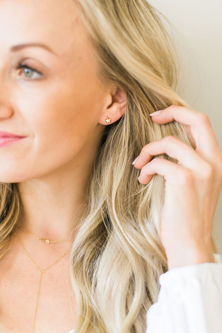 Nastia Liukin Jewelry Star Earrings