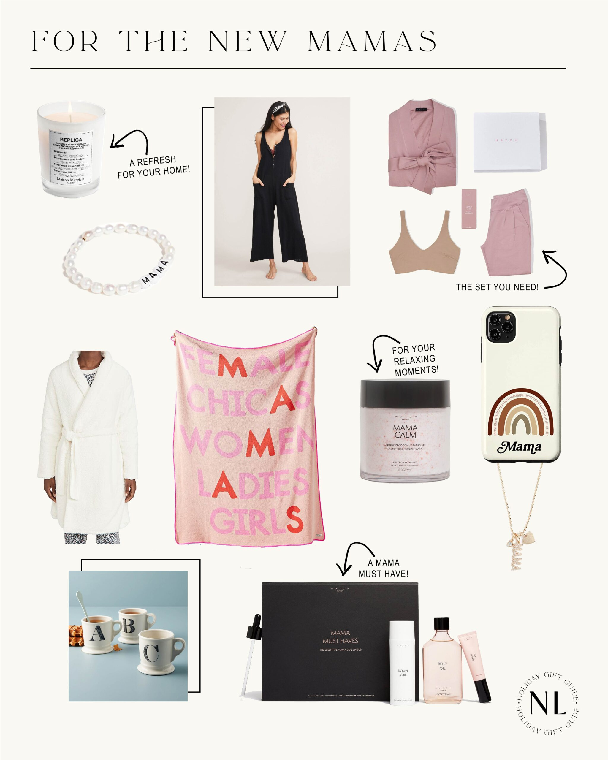 GIFT GUIDE: For The New Mama